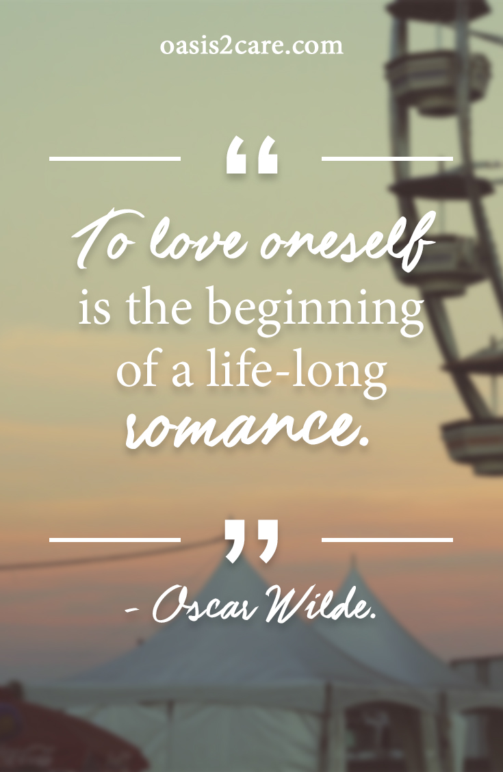 how to love yourself like your life depends on it